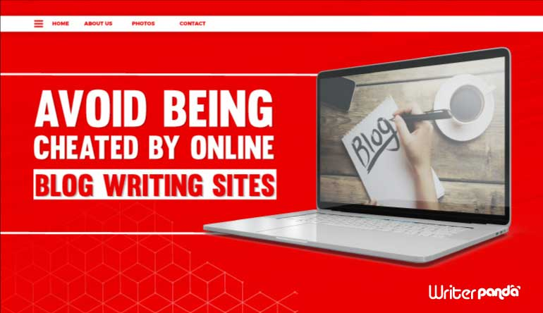 TIPS ON HOW TO AVOID BEING CHEATED BY ONLINE BLOG WRITING SITES.